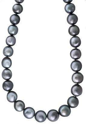 Effy 9MM Grey Baroque Tahitian Pearl Necklace