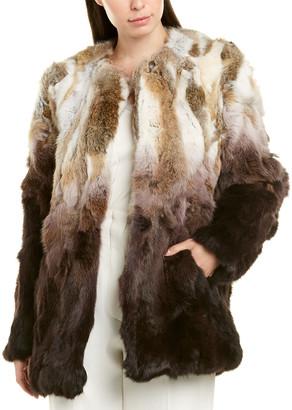 Adrienne Landau Ombre Coat