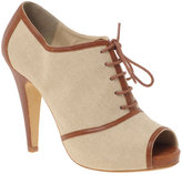 ASOS PACIFIC Canvas Lace Up Shoe Boot