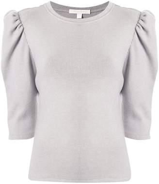 Jonathan Simkhai puff-sleeve short sleeve T-shirt