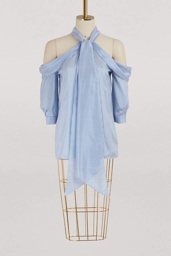 Erdem Elin silk blouse
