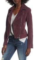 Blank NYC Women's Blanknyc Suede Moto Jacket