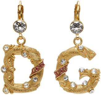 Dolce & Gabbana Silver Small City Earrings