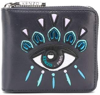 Kenzo embroidered eye wallet