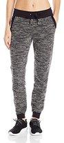 Calvin Klein Women's Boucle Knit Zip Cuff Jogger Pant