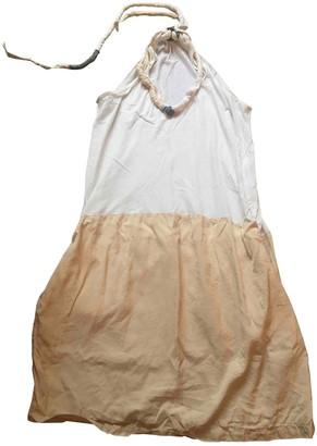 Clu White Cotton Dress for Women