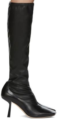 Jimmy Choo Black Myka Tall Boots