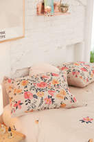 Urban Outfitters Bouquet Check Sham Set