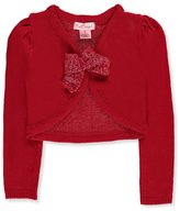 Pink Angel Little Girls' L/S Knit Shrug