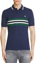 Fred Perry Striped Slim Fit Polo Shirt