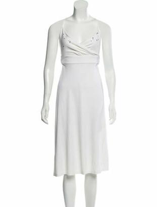 Celine Embellished Midi Dress