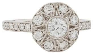 Marchesa Diamond Engagement Ring