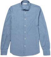 Boglioli - Slim-fit Cotton-chambray Shirt