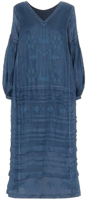 Vita Kin Neptune embroidered midi dress