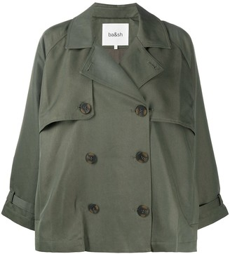 BA&SH Double-Breasted Boxy-Fit Jacket
