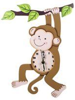 Teamson Sunny Safari Monkey Wall Clock