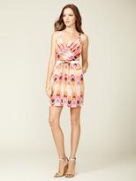 Akiko Silk Crepe V-Neck Tank Dress