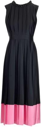 MSGM Pleated Midi Dress