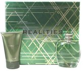 Realities by Realities Cosmetics for Men 2 Piece Set Includes: 3.4 oz Cologne Spray + 4.2 oz After Shave Soother