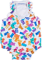 Submarine Gummy-Bear-Print Tank Swimsuit