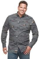 Croft & Barrow Big & Tall Regular-Fit Twill Button-Down Shirt