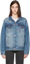 Earnest Sewn Indigo Denim Oversized Cecil Jacket