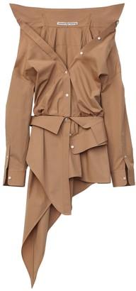 Alexander Wang Safari Asymmetric Deconstructed Shirt Dress