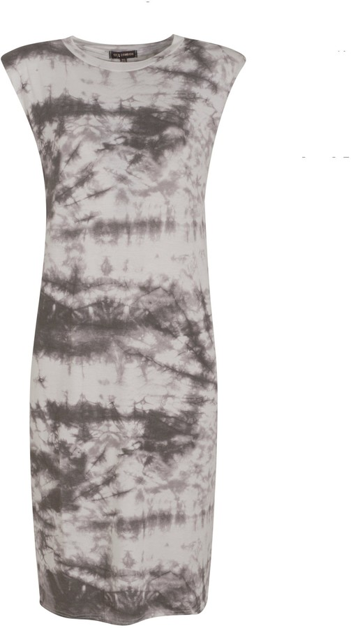 New Look Tie Dye Sleeveless Midi Dress