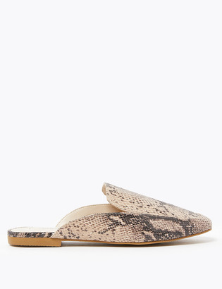 Marks and Spencer Almond Toe Mules