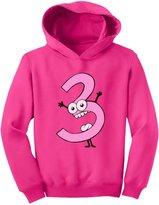 TeeStars - Baby Girl I'm 3 - Three Years Old Birthday Gift Toddler Hoodie