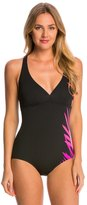 adidas Women's Shirred Front Crossback One Piece Swimsuit 8150227