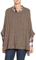 Barbour Women's 'Clover' Cable Knit Poncho