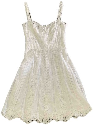 Collette Dinnigan White Cotton Dress for Women