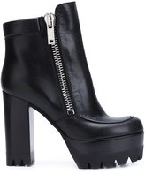 Mulberry platform sole chunky heel boots