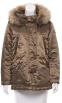 Tatras Fur-Trimmed Down Jacket