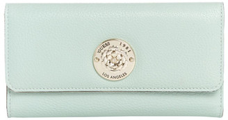 GUESS VG774466PLJ Belle Isle Zip Around Wallet