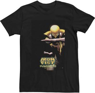 Iron Fist Men's Marvel Comics Tee