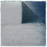 Giorgio Armani Tie-dye scarf - men - Silk/Modal - One Size