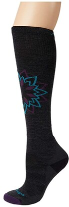 Darn Tough Vermont Sacred OTC Midweight with Cushion (Charcoal) Women's Crew Cut Socks Shoes