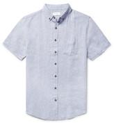 Onia Jack Button-Down Collar Linen Shirt