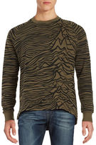 Eleven Paris Printed Crewneck Sweatshirt
