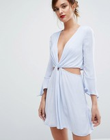 Bec & Bridge Blue Haze Mini Dress