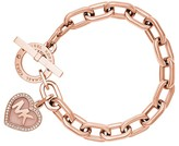 Michael Kors Heart Toggle Bracelet