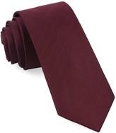 The Tie Bar Wine Herringbone Vow Tie