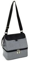 Picnic at Ascot Fashion Insulated Lunch Tote in Black/White