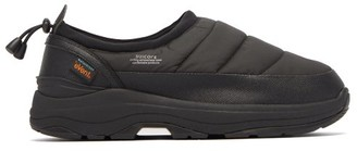 Suicoke Pepper Padded Slip-on Trainers - Black