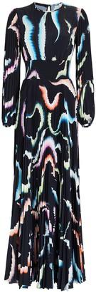 A.L.C. Leah Pleated Maxi Dress