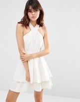 J.o.a. Pleated Mini Dress