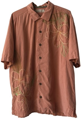 Non Signã© / Unsigned Brown Silk Shirts