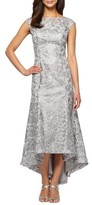 Alex Evenings Women's High/low Lace Dress